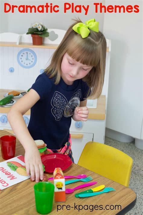 Dramatic Play Center In Preschool Prek And Kindergarten