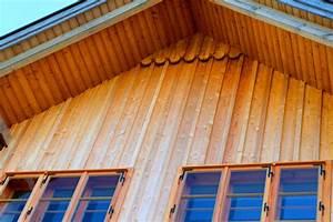Staudenhalter Selber Machen : fassadenverkleidung holz fassade laerche natur holzoptik ~ Lizthompson.info Haus und Dekorationen