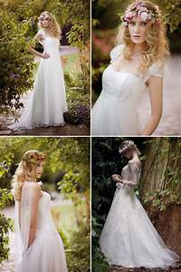 the best of boho for brides onewed With boho style wedding dresses