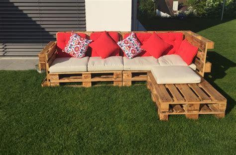 Garten Lounge Möbel Aus Paletten Selber Bauen by Gartenlounge Aus Paletten Selber Bauen Heimwerkerking