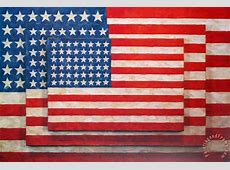 jasper johns Three Flags painting Three Flags print for sale
