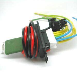 repair kit renault scenic ii heater blower fan resistor