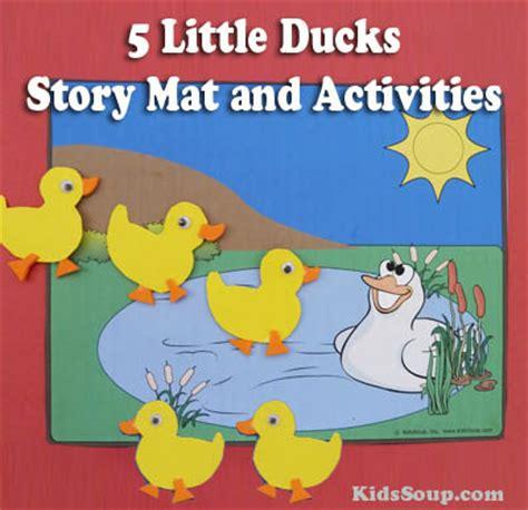 ducks    day story mat  activities
