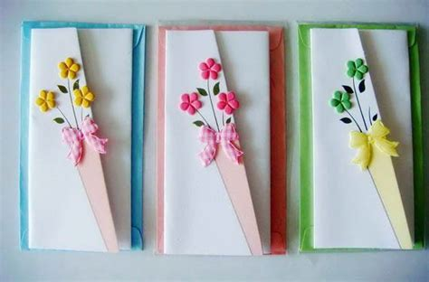 handmade mothers day card designs  ideas family