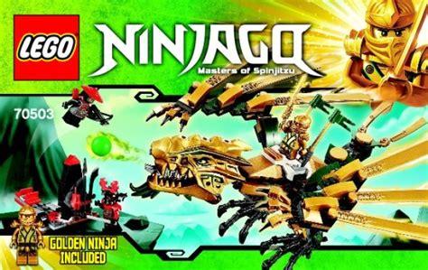 Bauanleitungen LEGO - NINJAGO - 70503 - Goldener Drache