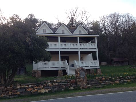 The Front Of The Chastain House Explore Paranormal