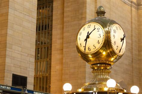 grand central terminal clock  stock photo public