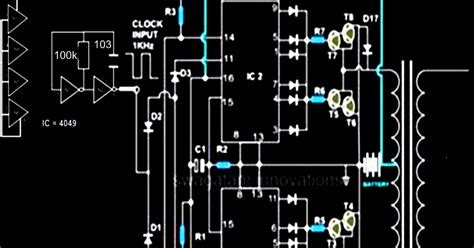 Modified Sine Wave Inverter Circuit Using Two