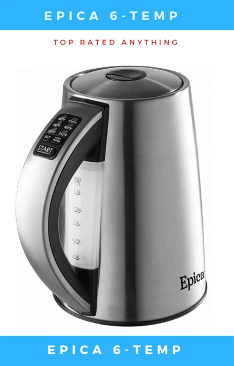 electric kettle rated tea kettles