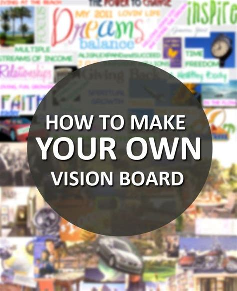 How To Make Your Own Vision Board | Successful people ...