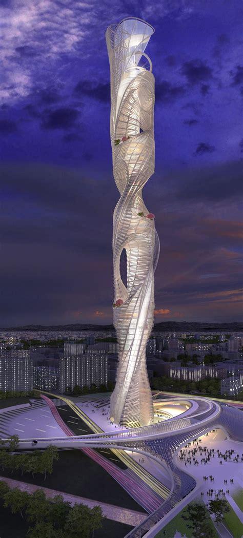 Taiwan Tower By Raymond Panhmc Architects Architektur