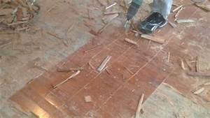 Removing glued down engineered flooring floor matttroy for How to remove glued hardwood floor