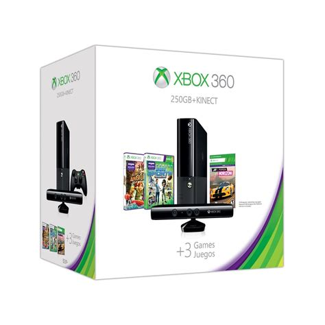xbox 360 console with kinect xbox 360 e 250gb kinect value bundle