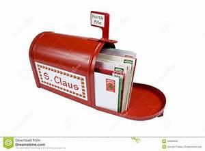 Boite Lumineuse Lettre : bo te aux lettres rouge lumineuse pour santa photo stock image 44906649 ~ Teatrodelosmanantiales.com Idées de Décoration