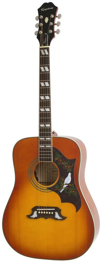 Harga Gitar Epiphone Dove Pro epiphone dove pro violin burst guitar buy