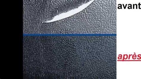 reparation canape simili cuir réparer cuir rénover cuir atg005 voiture entretien