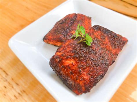 salmon air fryer fried recipe clean nutrition