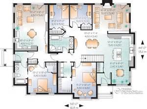 house with inlaw suite classique jumelés bi génération chêtre manoirs châteaux w3043 maison laprise