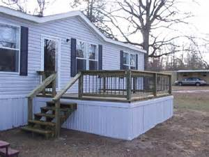 Mobile Home Deck Ideas Pictures by Decks For Single Wide Mobile Homes Studio Design
