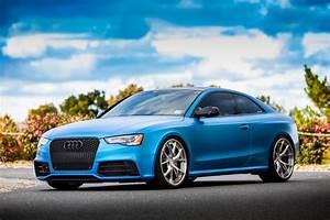 Matte Blue Audi Rs5