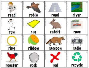 letter r worksheets for kindergarten preschool and 146 | read and say beginning with letter r 300x230