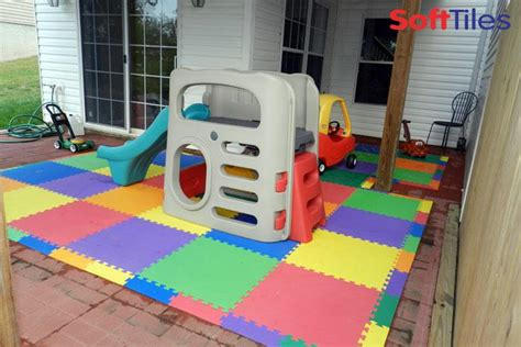 Foam Floor Mats Baby by Outdoor Patio Cushioned Children S Play Mat Using