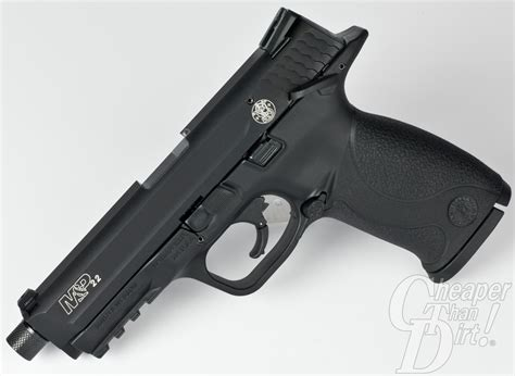 Smith & Wesson M&p .22 Pistol Range Report