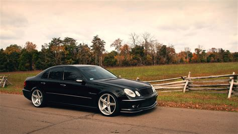 Mercedes E Class Hd Picture by Mercedes E Class Amg Black W211 Vossen Wallpaper