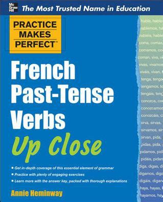 practice  perfect french  tense verbs  close