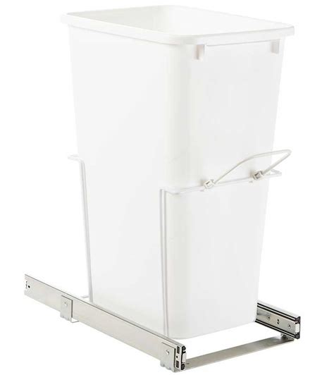 pull out trash cabinet pull out cabinet trash can 50 quart in cabinet trash cans