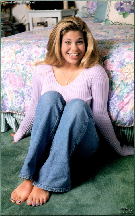 Danielle Fishels Feet