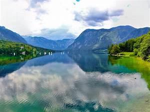 Mountains, Lake, Bohinj, Slovenia, Clouds, Nature, Landscape, Photography, 4k, Wallpaper, 3840x2160