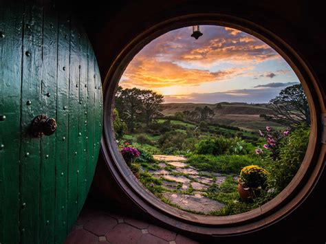 Lord Of The Rings 4k Wallpaper The Hobbiton Movie Set Is A Top Tourist Attraction In New Zealand Business Insider