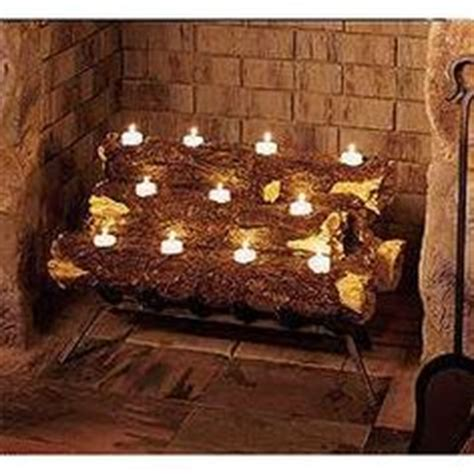 log candles for fireplace 1000 images about empty fireplace on pinterest fireplaces fireplace logs and candles