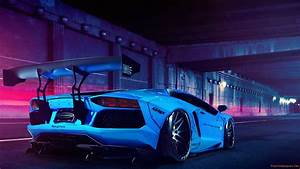 Car Lamborghini Aventador Tuning Hd Wallpaper Free High