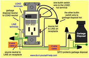 Dishwasher Garbage Disposal Gfci Wiring Diagram