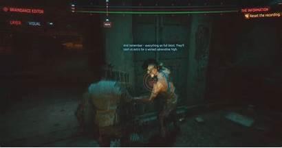 Cyberpunk 2077 Braindance Feature Detailed Night Playstation