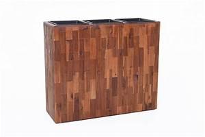 Raumteiler Aus Holz : pflanzk bel raumteiler elemento aus holz akazie 75x90x30 cm braun ~ Indierocktalk.com Haus und Dekorationen
