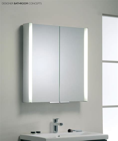 Mirrored Bathroom Cabinets by Bathroom Mirror Cabinet With Light And Standalone Bahtroom