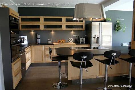 cuisine noir et bois 1000 images about cuisine bois et noir on