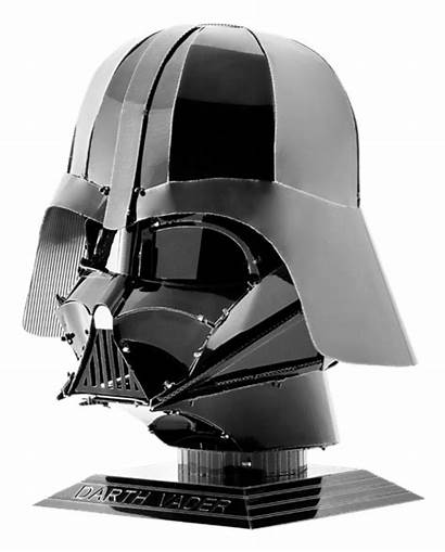 Vader Darth Helmet Metal Earth Star Wars