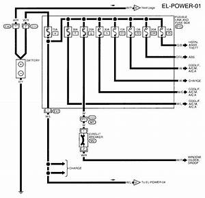 2009 Nissan Altima Power Window Wiring Diagram