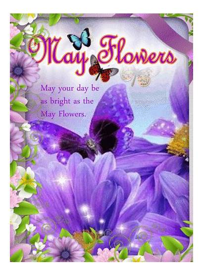 Happy Flowers Gifs Wishes Spring Flower Greetings