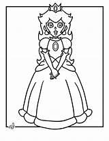 Coloring Mario Peach Super Printable Colorir Desenhos Princess Princesa Brothers Bros Colorare Desenho Pintar Coloriage Imprimir Disegni Az Daisy Kolorowanki sketch template
