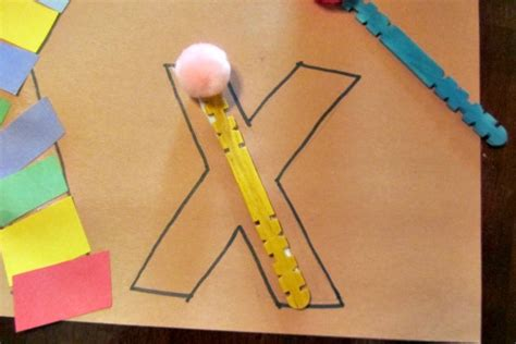letter x crafts for preschool preschool letter x activity x is for xylophone evolving 971