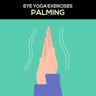 Eye Yoga Exercises Strain Easy Lenstore Prevent