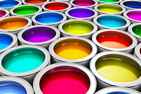 color paint cans hd free foto
