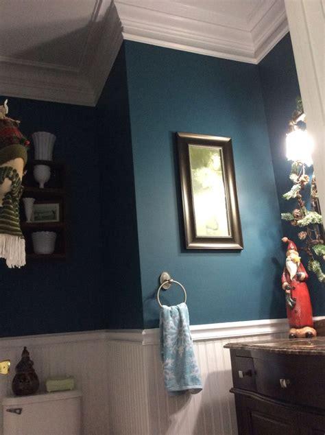 powder room stormy seas valspar beautiful peacock blue green bedroom colors blue green