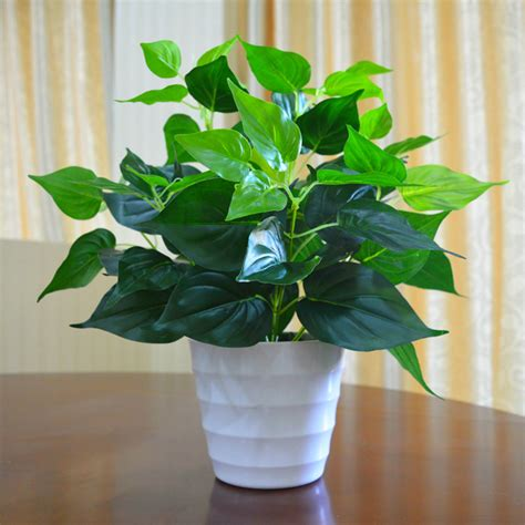 garden decoration leaves garden decoration green leaves plant flowers simulation