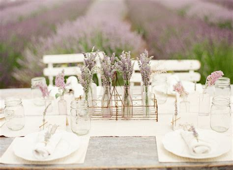 Lavender Field Wedding The Details